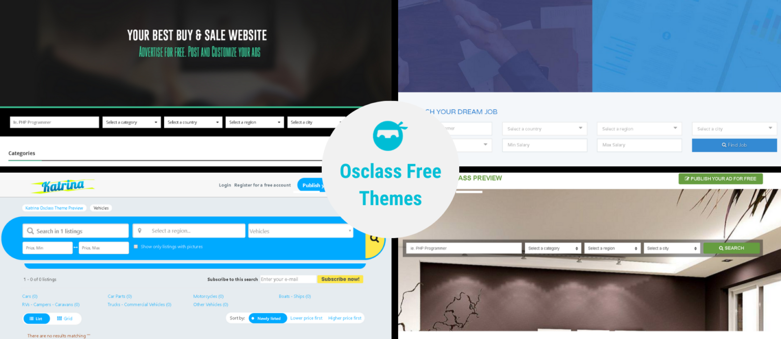 Osclass Free Themes