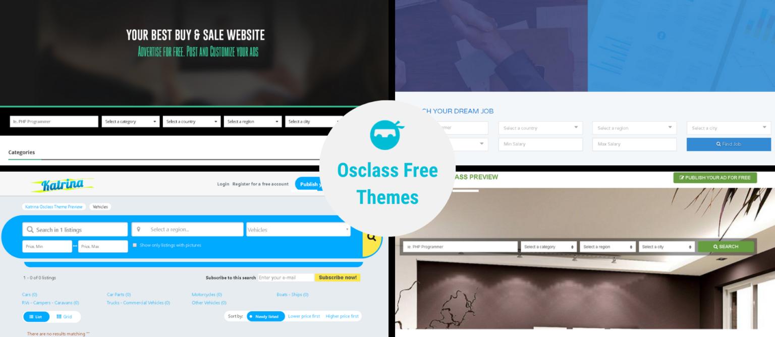 Osclass Free Themes