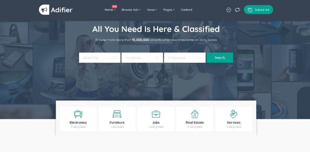 Adifier WordPress Classified Theme