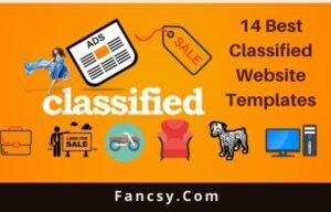 Classified Website Templates